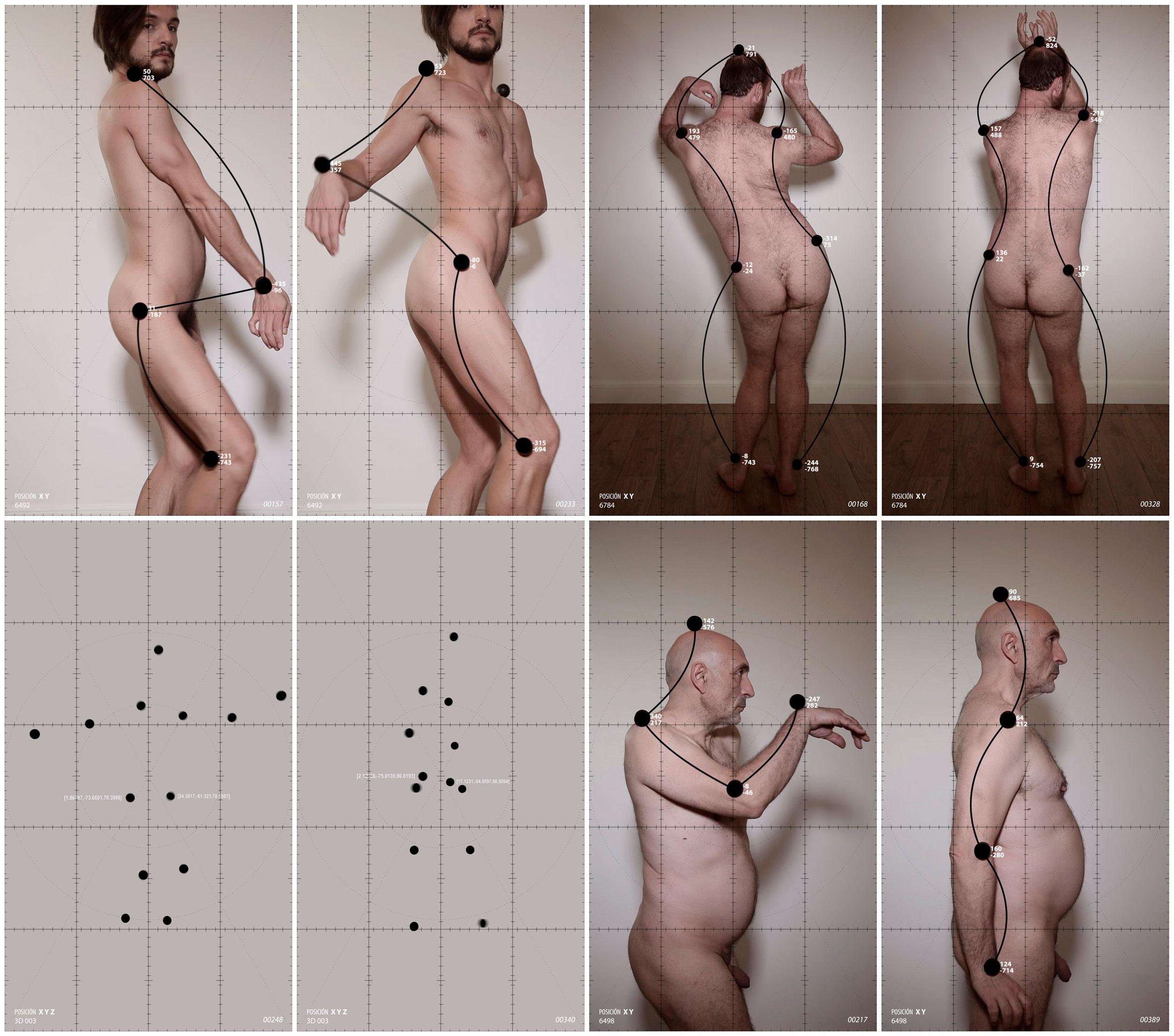 Manu Arregui - Ejercicios de medición sobre el movimiento amanerado del cuerpo